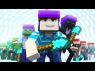 V�deo Minecraft: The Game of SPLEEF - Minecraft Animation