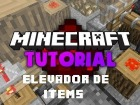 V�deo Minecraft: Redstone Tutorial: Elevador de items