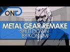 V�deo: Metal Gear Remake - Shut Down by Konami, Early Trailer w/ David Hayter, Exclusive Details