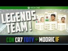 Fifa 14 Ultimate Team | Equipazo Legends Team + CR7 TOTY + Modric IF |