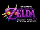 V�deo: Unboxing New 3DS XL Edici�n The Legend of Zelda Majora's Mask 3D!
