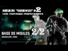 "SPLINTER CELL ""BLACKLIST"".- ""BASE DE MISILES"" parte 2/2 - 100% FANTASMA by Cuban Doce"