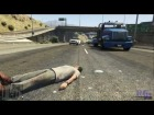 V�deo Grand Theft Auto V: GTA V | Atropellos a c�mara lenta | EPIC FAILS