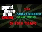 GTA V - GTA V Online Truco para tener Experiencia y Dinero (100% Facil)