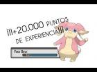 Pok�mon X/Y | +20.000 PUNTOS EXP EN UN SOLO COMBATE!!!
