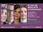 V�deo: Presentaci�n del Plan de Rescate Ciudadano