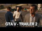 V�deo Grand Theft Auto V: GTA 5 Trailer 2