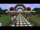 V�deo Minecraft: Batalla en la arena PvP. Min3World Server