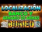 BURIED || Localizaci�n del BANCO y ARMARIO de ARMAS || DLC Vengeance Black Ops 2 Zombies
