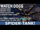 V�deo: Watch Dogs: Spider Tank - Eurogamer Preview