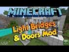 GUIA MINECRAFT MOD: LIGHTS BRIDGES AND DOORS MOD