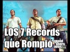 LOS 7 RECORDS QUE ROMPIO GTA V