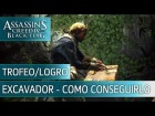 Assassin's Creed 4 Black Flag - Trofeo/Logro Excavador