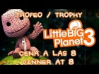V�deo: LittleBig Planet 3 - Trofeo / Trophy - Cena a las 8 - Dinnet At 8
