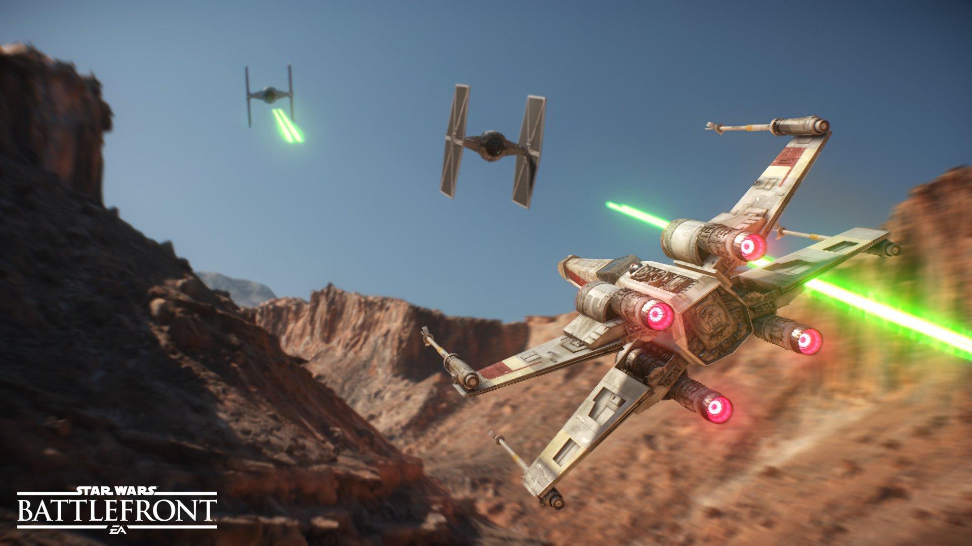 Star Wars: Battlefront en la época de 16 bits