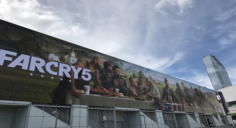 El Convention Center se viste de Far Cry 5 para el E3 2017