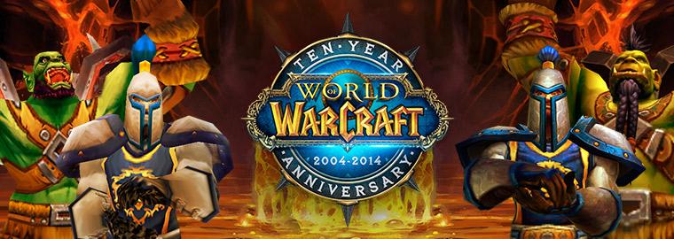 World of Wacraft conmemorará su décimo aniversario con varia