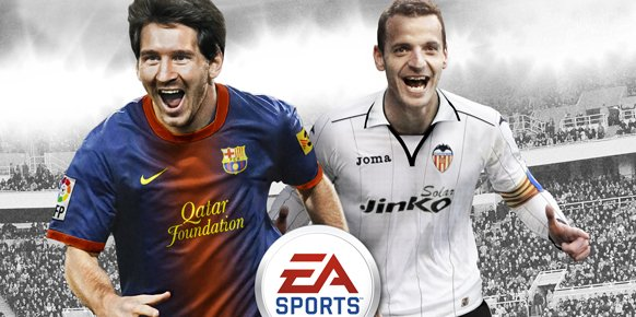 Portada espa&ntilde;ola de FIFA 13