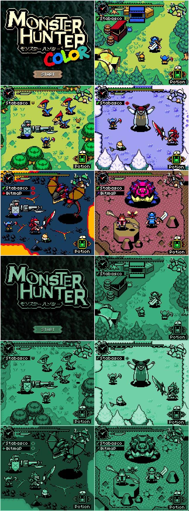 Así hubiera sido Monster Hunter para Gameboy / Gameboy Color Monster_hunter_4-2695155