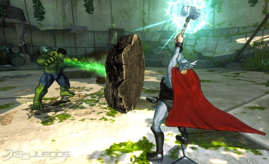 Imagenes Marvel Avengers Battle For Earth XBOX 360