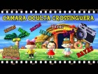 Video: CAMARA OCULTA CROSSINGUERA | DAME BAYAS!! | Animal Crossing WELCOME AMIIBO