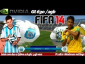 Video FIFA 14 - Fifa 14 on Nvidia Geforce GT 630 (Gameplay Espa�ol-Argentino)