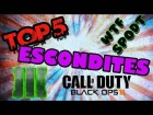 Video: Top 5 escondites call of duty black  ops 3  spots mas wtf bo3