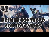 Video Destiny - Destiny Beta | Primer contacto con los ca�dos #2 | PS4