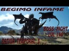 Video: Begimo infame boss lvl140, batida de caza temporal 3 FINAL FANTASY XV