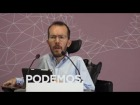 Video: Rueda de prensa del Consejo de Coordinación de Podemos