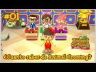 Video: ¿CUÁNTO SABES DE ANIMAL CROSSING? #01 | CONCURSO | ACNL WELCOME AMIIBO