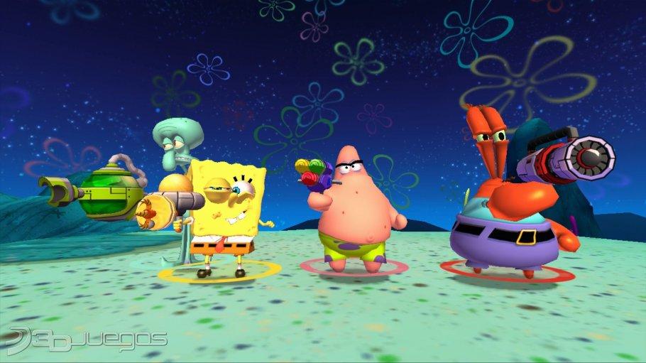 Imagenes Bob Esponja La Venganza De Plankton XBOX 360