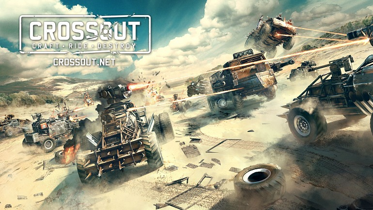 La acción de Crossout se desata en PC, Xbox One y PS4 el 30 de mayo