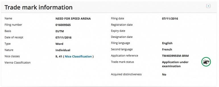 Need for Speed Arena, el último y misterioso registro de velocidad en EA
