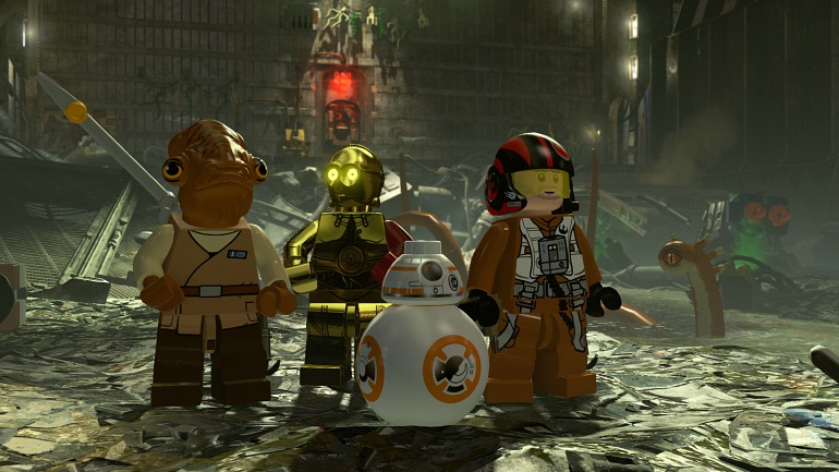 LEGO Star Wars: El Despertar de la fuerza comanda las ventas británicas