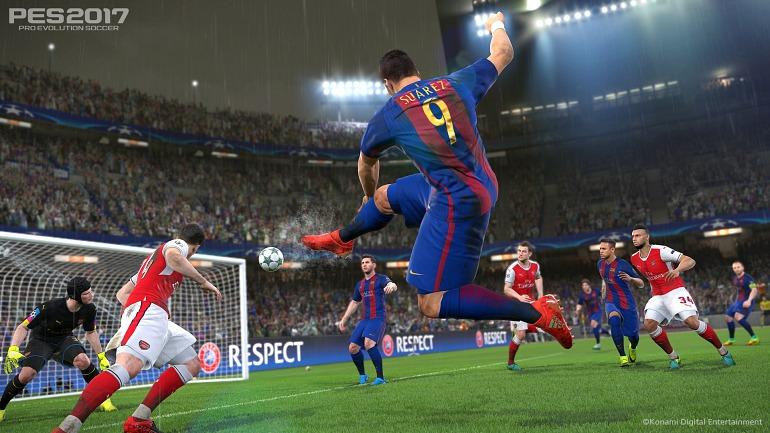 PES 2017 se adaptará a la resolución 4K de PS4 Pro con un nuevo parche