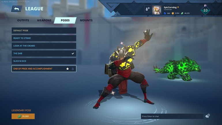 Battlerite se burla de la infame frase de EA con un nuevo gesto legendario