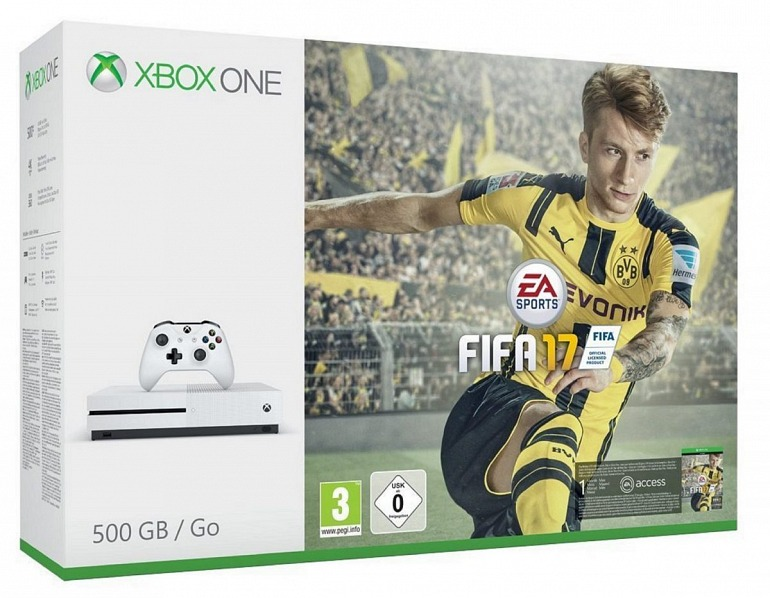 Xbox One S rebaja sus packs a 269 euros hasta finales de enero