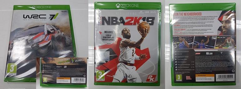 Así serán las cajas de juegos de Xbox One mejorados en Xbox One X