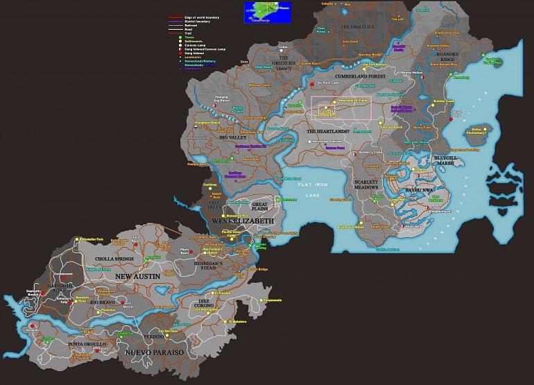 Mapa: gtaforums.com