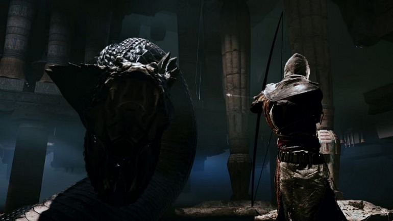 Assassin's Creed: Origins: su director justifica la serpiente gigante