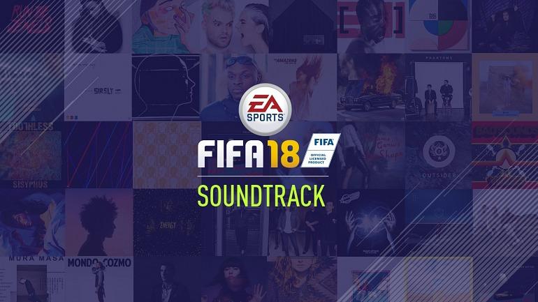 FIFA 18 anuncia los artistas y canciones que forman su banda sonora
