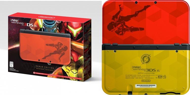 Gana una New Nintendo 3DS XL Samus Edition + amiibos con #VuelveMetroid