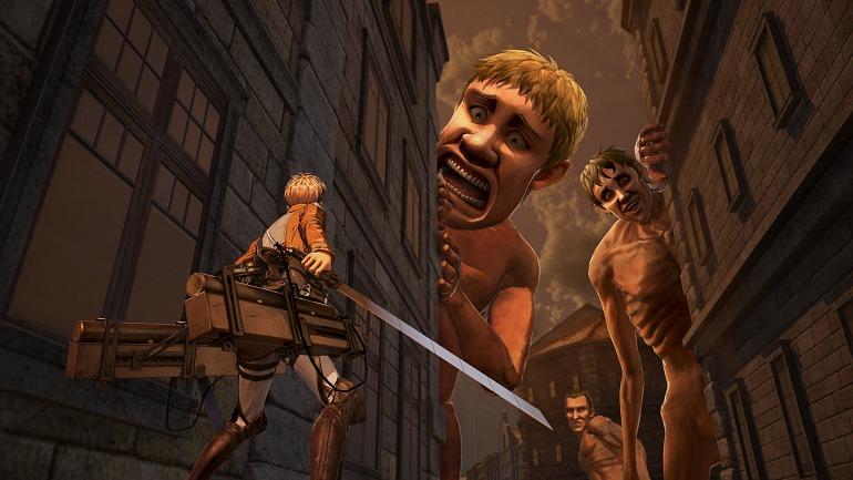 Attack on Titan 2 tendrá más de 30 personajes jugables