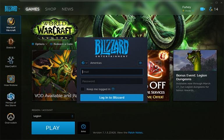 ¡Adiós, Battle.net! La lanzadera de Blizzard pasa a llamarse... Blizzard