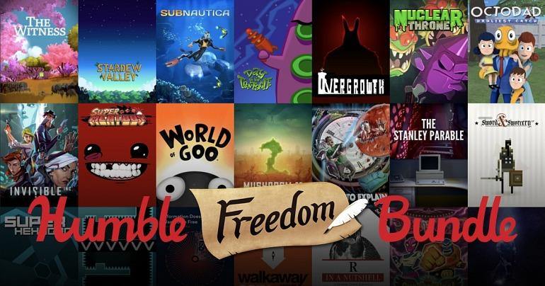 El Humble Freedom Bundle supera los 6 millones de dólares
