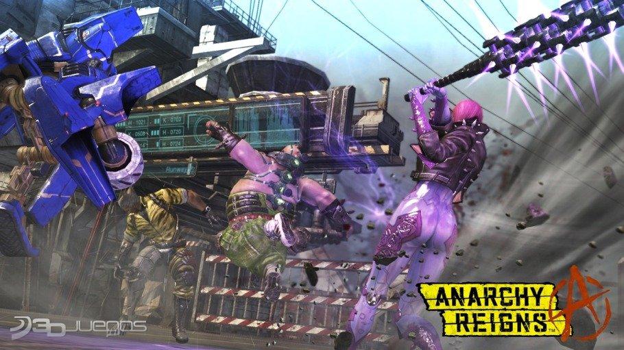 Imagenes Anarchy Reigns XBOX 360
