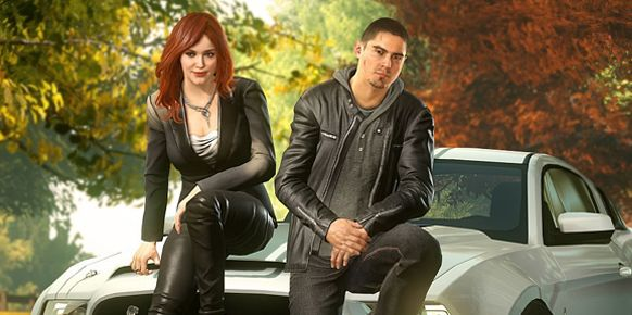 Need for Speed: The Run (Christina Hendricks y Sean Farris)