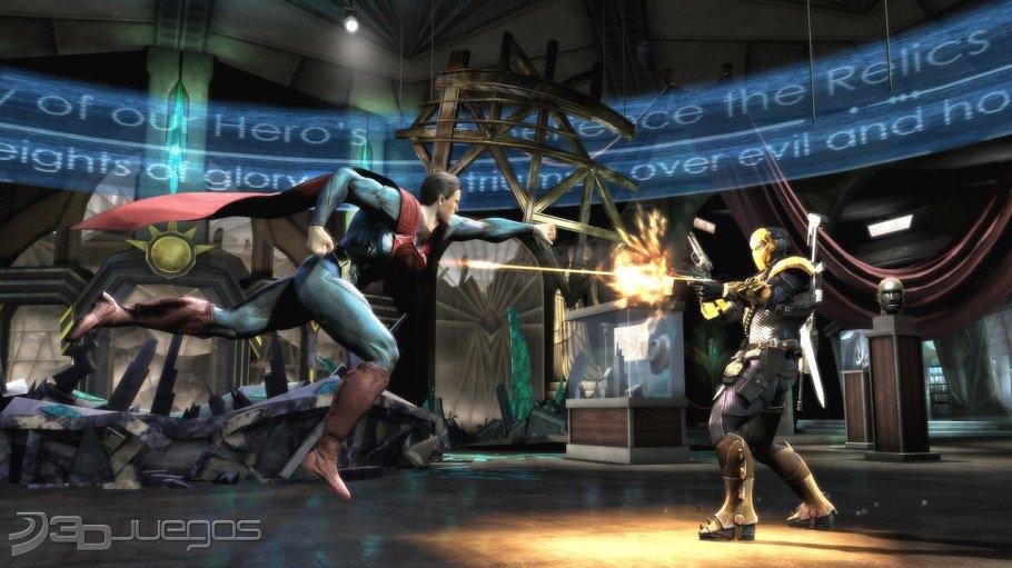 Injustice Gods Among Us XBOX 360 Imagenes