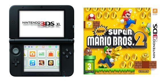 Sorteamos un pack de Nintendo 3DS XL y New Super Mario Bros. 2 [Resultado]